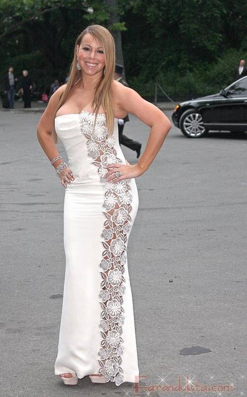 Mariah Carey se olvido de la dieta