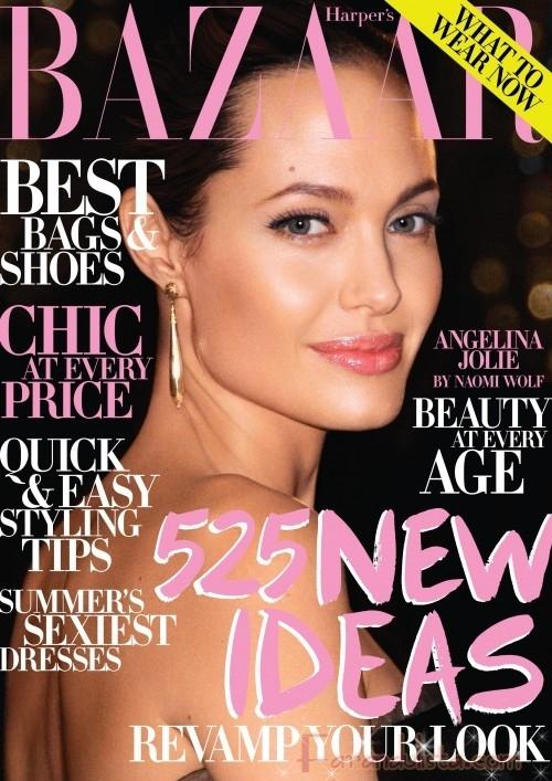Harper's Bazaar habla de Angelina Jolie