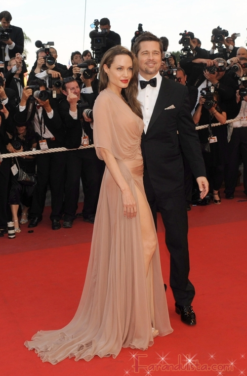 Angelina Jolie, Brad Pitt y su familia donan 1 millon de dolares
