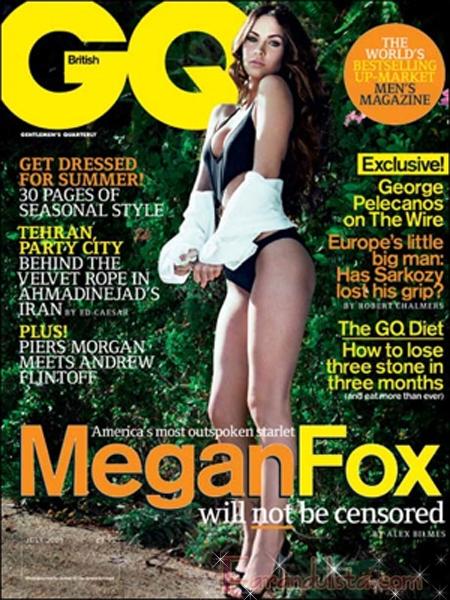 Megan Fox afirma que es una especie de prostituta [GQ]