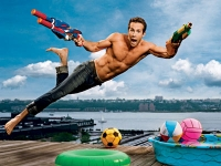 Ryan Reynolds es puro Entertainment HOT HOT!