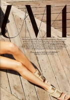 Uma Thurman en Harper's Bazaar