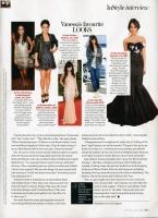 Vanessa Hudgens en InStyle Magazine [Julio 2009]