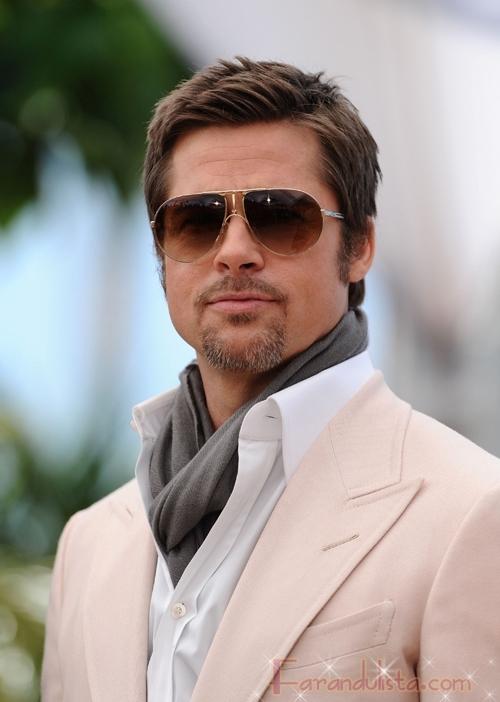 Brad Pitt es feliz y no cree en Dios