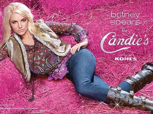 Nuevas promos de Britney Spears para Candie's [Otoño]