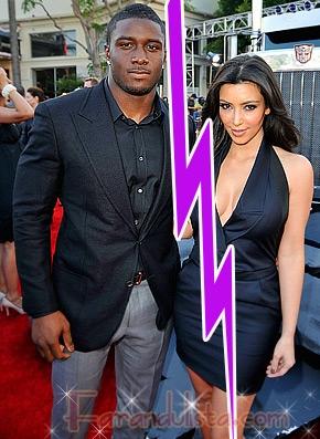 Kim Kardashian y Reggie Bush terminaron