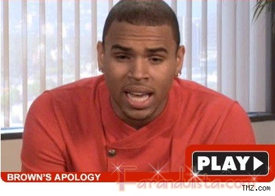 Chris Brown se disculpa por haber golpeado a Rihanna