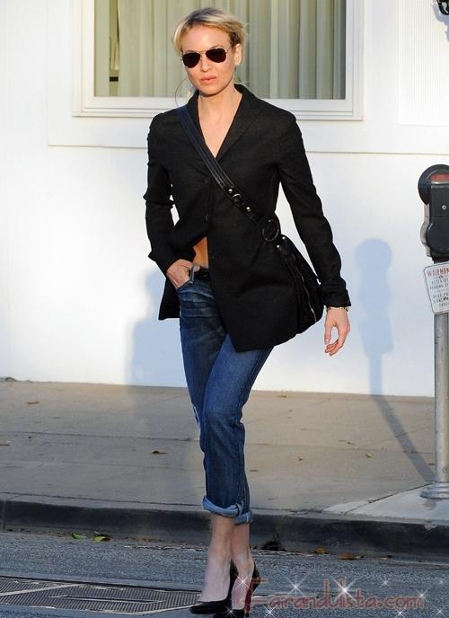 Renee Zellweger ganara peso otra vez para Bridget Jones