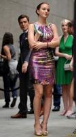 Gossip Girl Leighton, Blake y Ed en el set