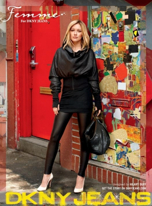 Hilary Duff para Femme for DKNY Jeans