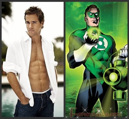 Ryan Reynolds sera the Green Lantern