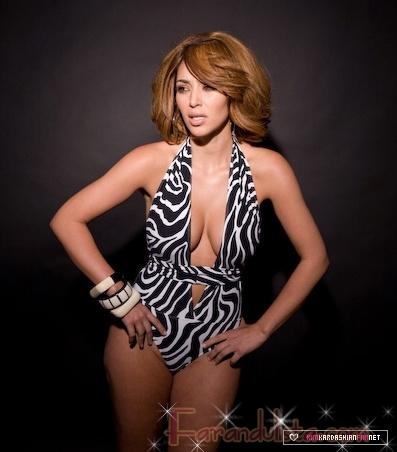 Kim Kardashian en una sexy sesion de fotos... Huh?