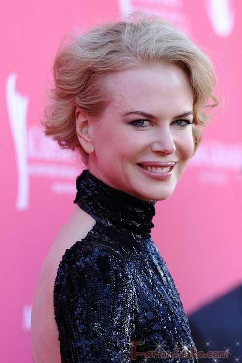 Nicole Kidman en un especial de Project Runway
