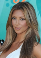 Kim Kardashian rubia en los Teen Choice Awards 2009