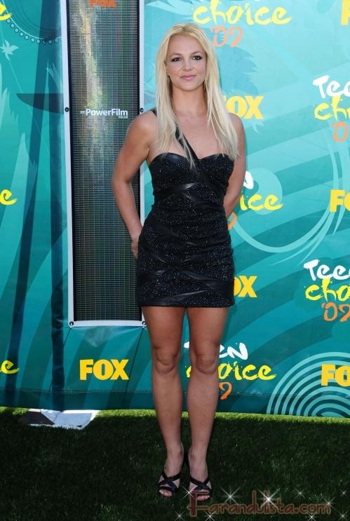 Britney Spears en los Teen Choice Awards 2009