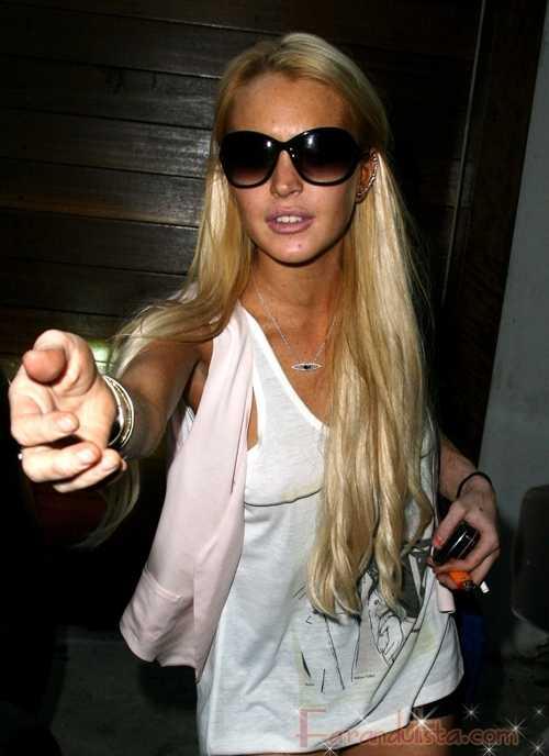 Lindsay Lohan luce... mejor?