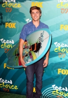 Zac Efron en los Teen Choice Awards 2009