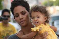 Halle Berry y Nahla Ariela en West Hollywood
