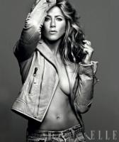 La pobre y solitaria Jennifer Aniston en Elle Magazine [Sept 2009]