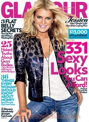 Jessica Simpson siempre tuvo problemas con su peso - Links!