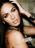 Megan Fox no le teme al compromiso - Cosmo Octubre 2009