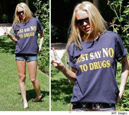 El mensaje de Lindsay... LOL!