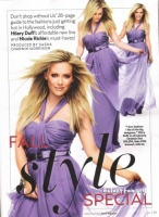 Hilary Duff en Us magazine - Fall Style Special