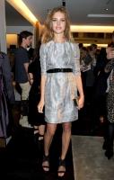 Celebs en el Burberry Fashion Show