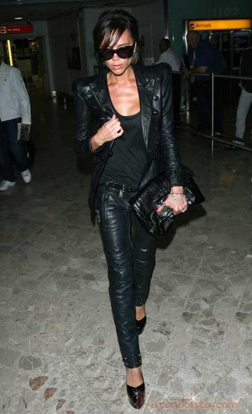 La delgadez de Victoria Beckham Asusta!