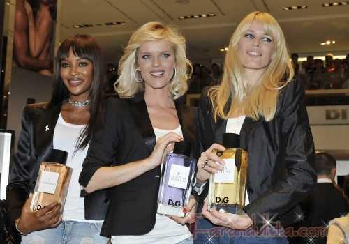 Eva, Naomi y Claudia se reunen para Dolce & Gabbana