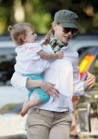 Nicole Kidman, Keith Urban y Sunday Rose en el parque