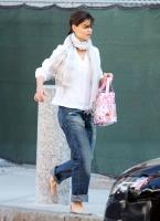 Katie Holmes y Suri Cruise shopping en Boston!