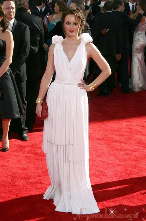 Gossip Girl Leighton Meester en los Emmy Awards 2009