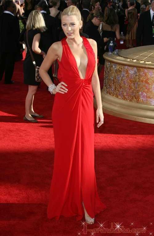 Gossip Girl Blake Lively super HOT en los Emmy Awards 2009
