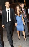 Eva Longoria y Tony Parker en una cita Parisina