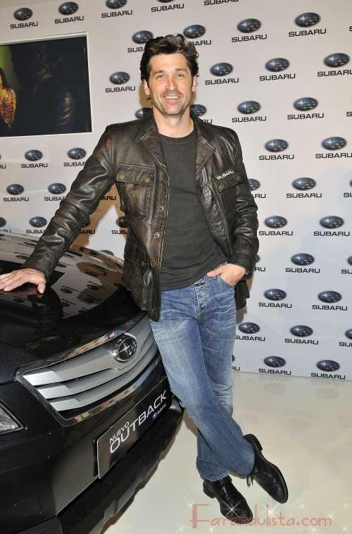 Patrick Dempsey presenta el nuevo Subaru en España