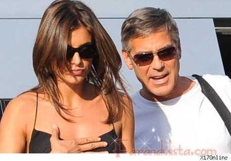 George Clooney muestra a su nueva novia