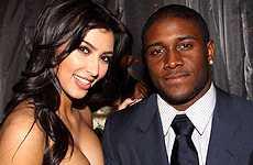 Kim Kardashian y Reggie Bush volvieron
