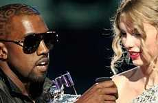 Kanye West interrumpe a Taylor Swift en los VMA 2009