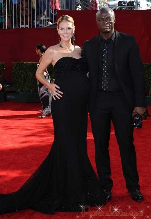 Heidi Klum y Seal dicen estar enamorados de su nueva hija
