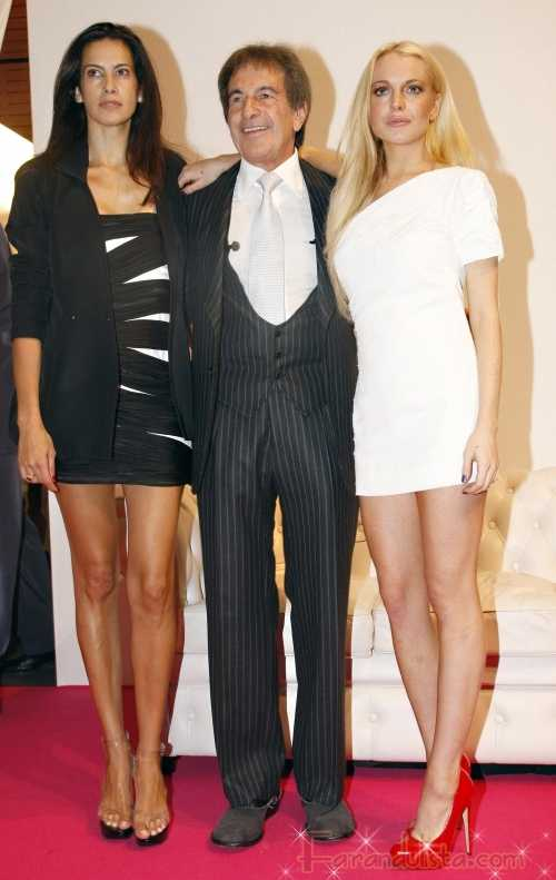 Ewww... el debut de la coleccion de Lindsay Lohan para Ungaro FAIL!!