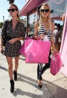 Paris Hilton evitando problemas