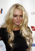 Lindsay Lohan en el evento Rock The Kasbah en L.A