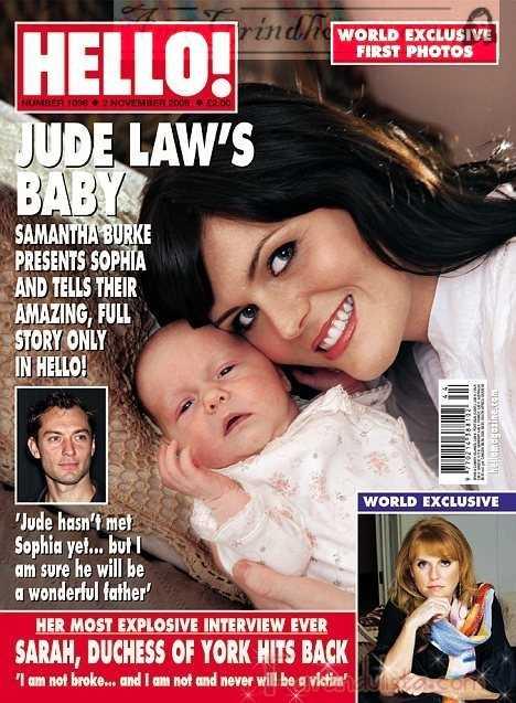Conozcan a Sophia, la hija de Jude Law - Gossip Gossip!!