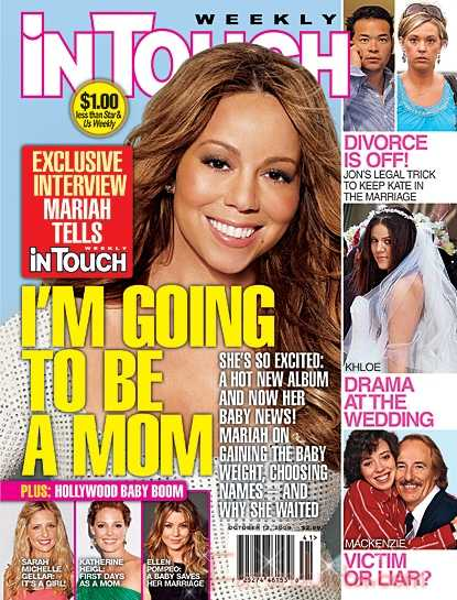 Mariah Carey: Voy a ser Madre! [InTouch]