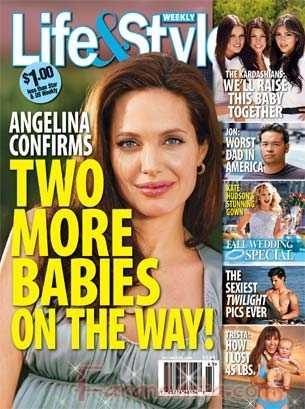 Angelina Jolie tendra dos hijos mas - Life&Style