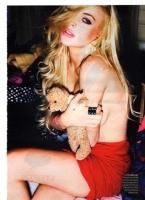 Lindsay Lohan en Style magazine