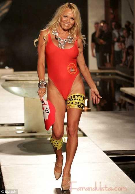 Pamela Anderson debe estar desesperada