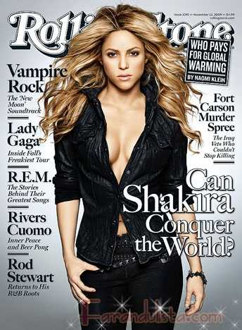 Shakira puede conquistar al mundo? Rolling Stone