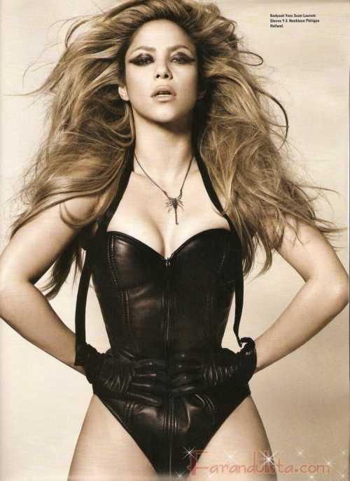 Shakira irreconocible en i-D magazine